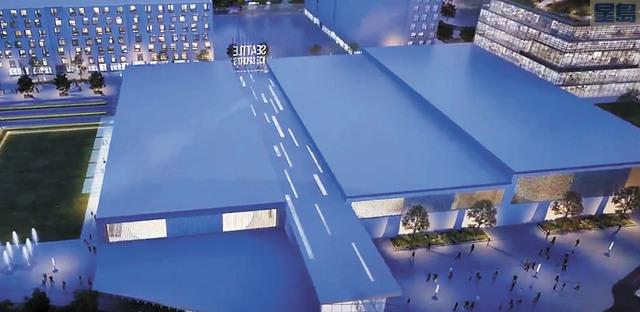 NHL新場館將落戶北門商場。