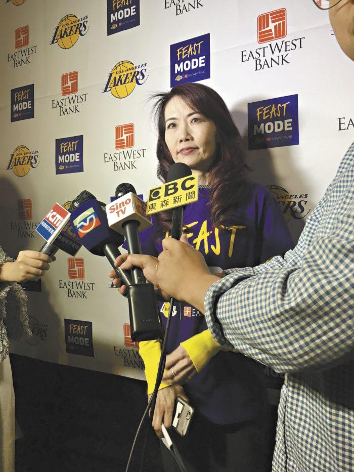華美銀行資深副總裁,行銷部與社區發展部總監王國蘭(Emily Wang)