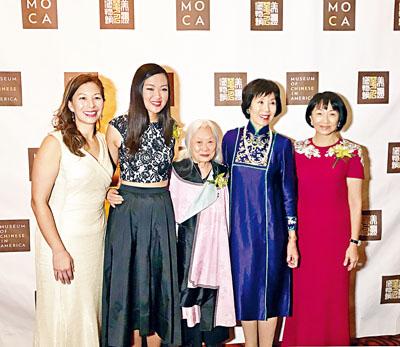 左起:姚南薰、何光玥、湯婷婷、董溫子華、利張錫齡。