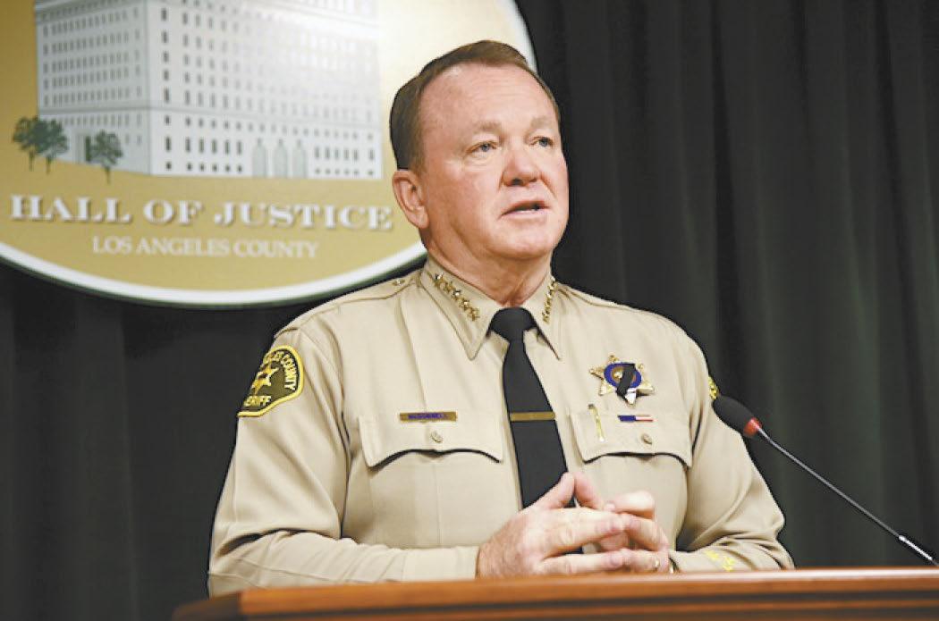 麥克唐納召開作為第32任警長的最後一場記者會。龐可陽攝