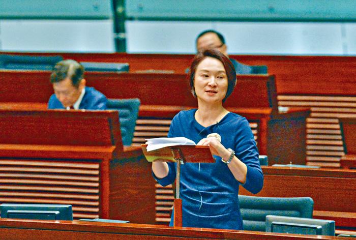 李慧琼讚揚《施政報告》,充分反映今屆政府處理社會及民生問題的決心。