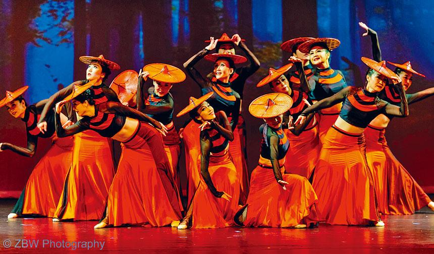 舞蹈「山靈」。東方藝術團提供