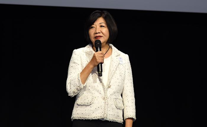迪士尼目的地中華市場和銷售總監鄧慶玲。龐可陽攝