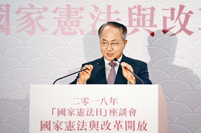中聯辦主任王志民(圖)
