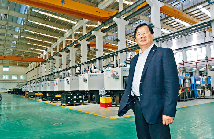 李遠發表示,FITMI正研究在香港工業邨設廠研發及製造新能源汽車。黃賢創攝