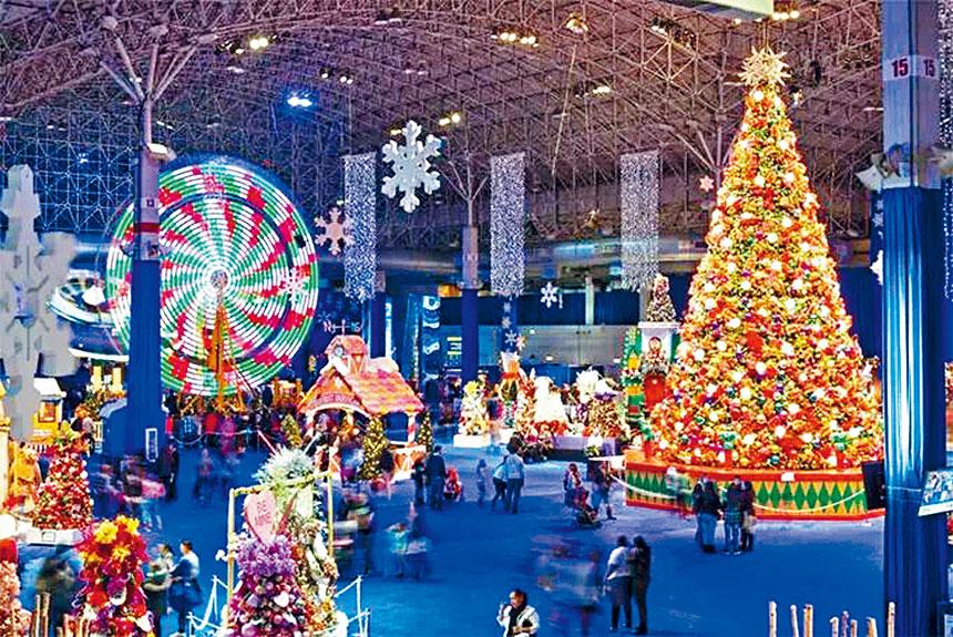 海軍碼頭的冬日花園嘉年華,每一年都吸引著成千上萬的民眾前往遊玩觀賞。
