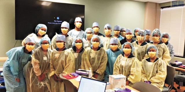 由KCC領導的15個月醫務助理培訓課程,希望為醫院和診所培訓更多醫務助理。Hawaii News Now電視截圖