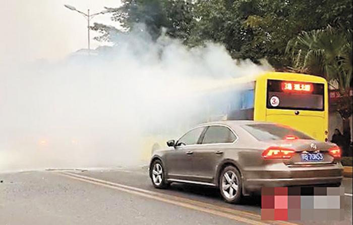 爆炸致17名人員受傷。網上圖片