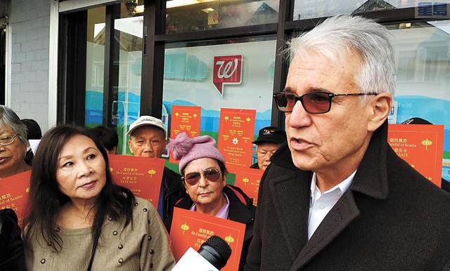 l 賈斯康談最新針對華裔的「祈福黨」騙案。記者黃偉江攝