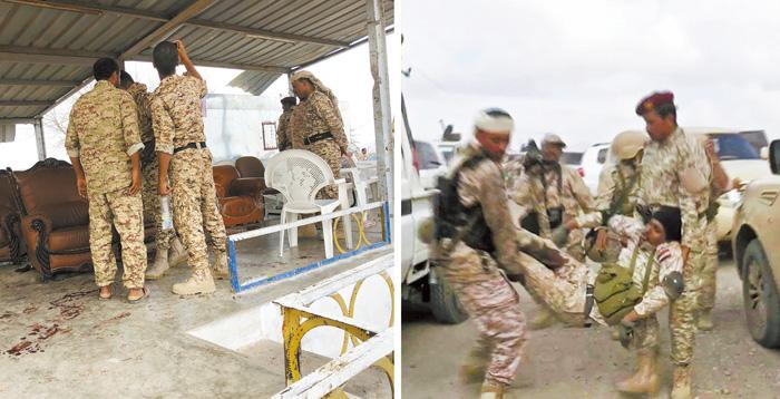 也門激進團體在南部拉赫季省襲擊阿納德空軍基地,造成數十人死傷。路透社