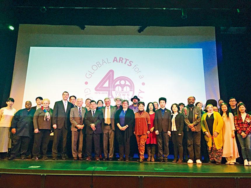法拉盛文藝中心發表2019年冬春季重點節目。