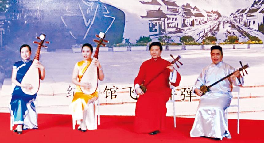 上海說唱《金鈴塔》。