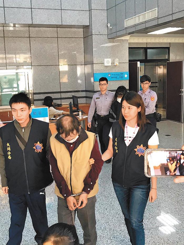 澳門籍廚師韋永全6年內兩度涉嫌竊案被大同分局同一員警逮捕法辦。網上圖片