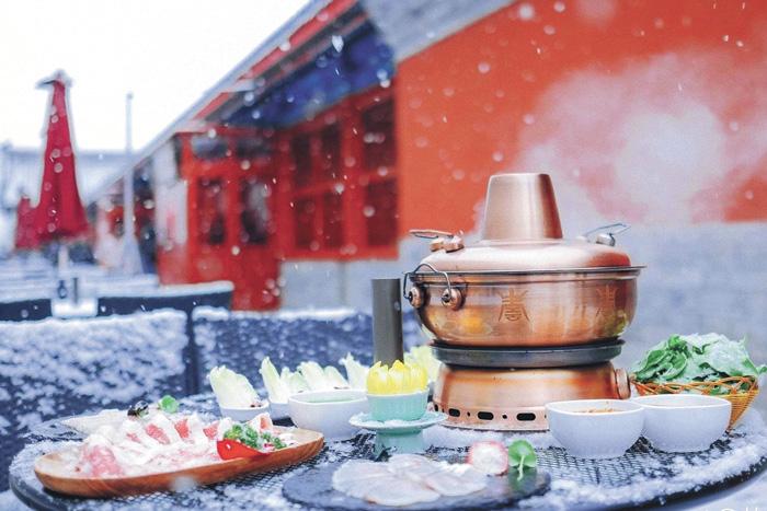 故宮火鍋推出的唯美宣傳照。
