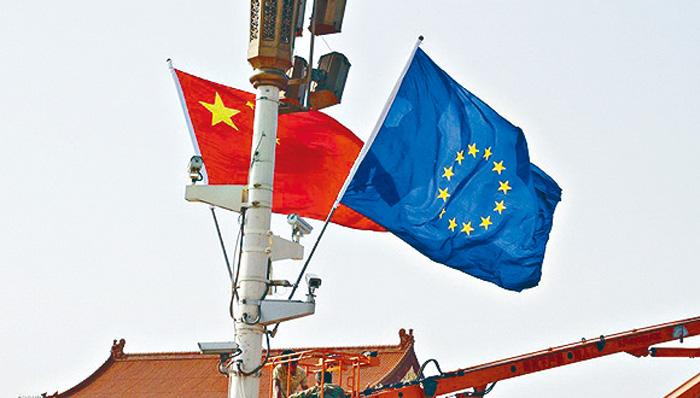 ■中國駐歐盟使團否認間諜活動。網上圖片