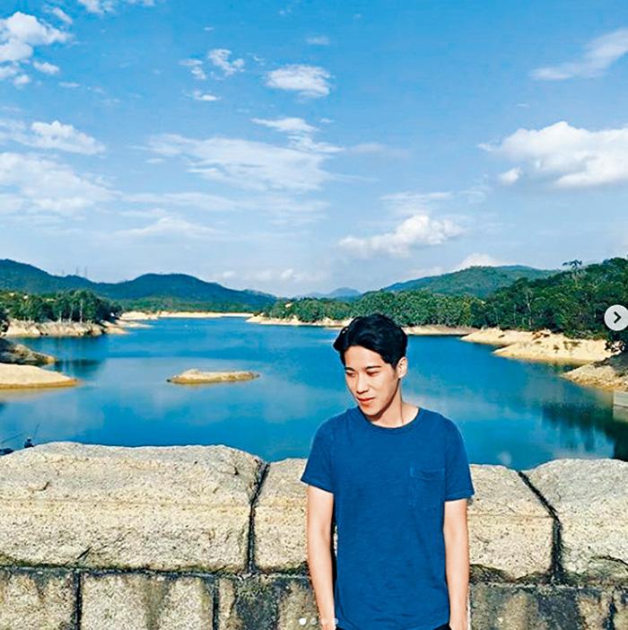 ■緋聞男友陳思銘,跟詩詠在同日同一地點拍照。