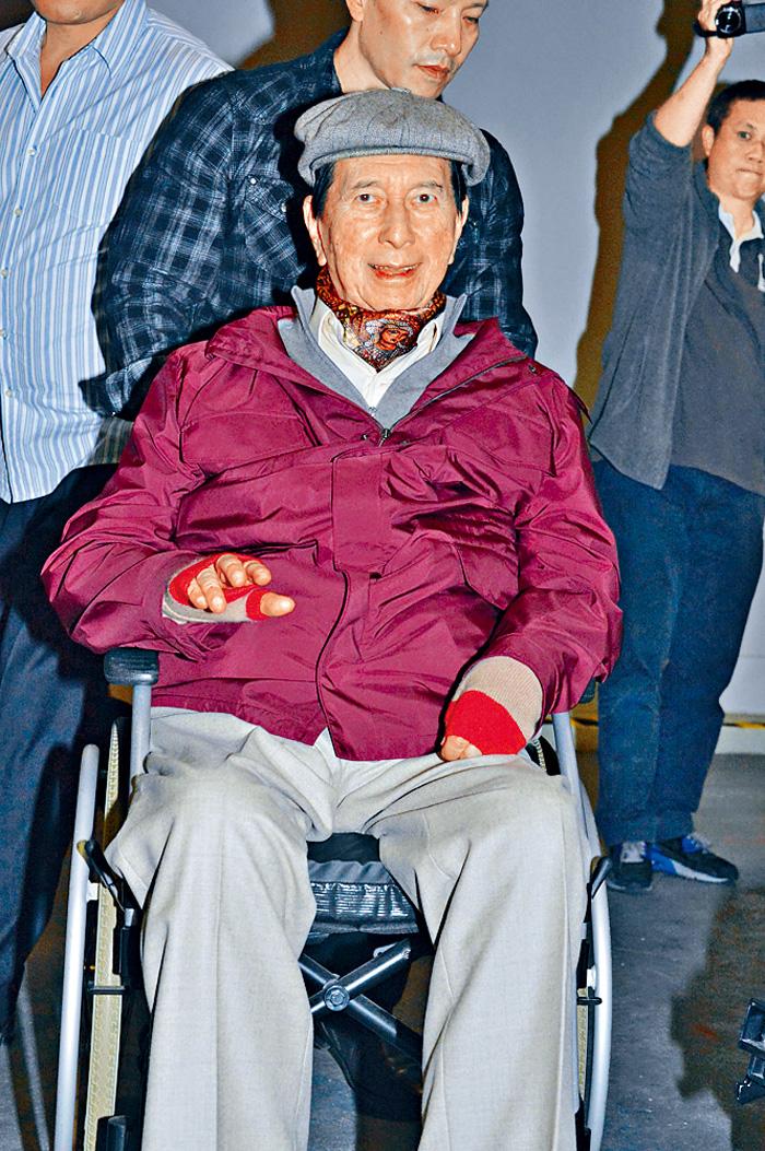 ■賭王何鴻燊正在養和醫院休養。(資料圖片)