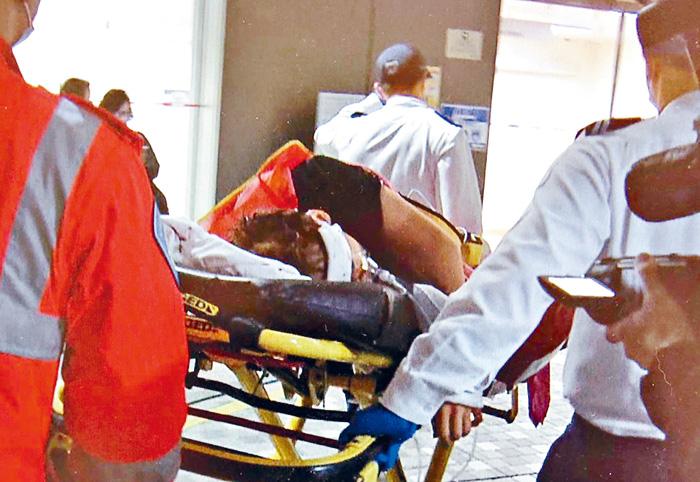 重傷昏迷工人送院不治。