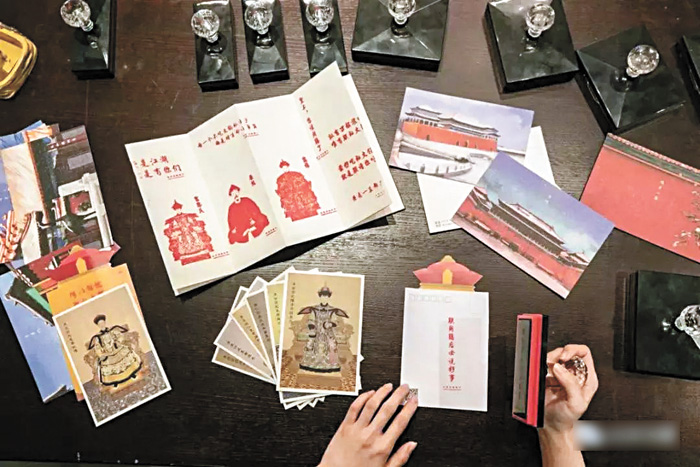 食客可以在店內加蓋印章,還能獲贈角樓專屬明信片。網上圖片