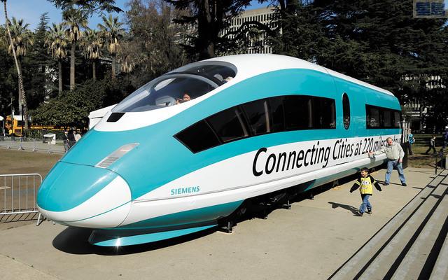 經過紐森州情咨文的一番話之後,高鐵連接三藩市與洛杉磯的計劃似乎已成泡影。美聯社