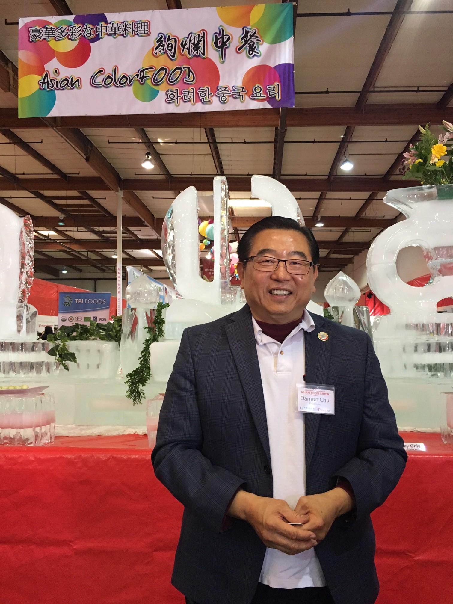 南加亞洲食品展創始人兼總裁朱晧元