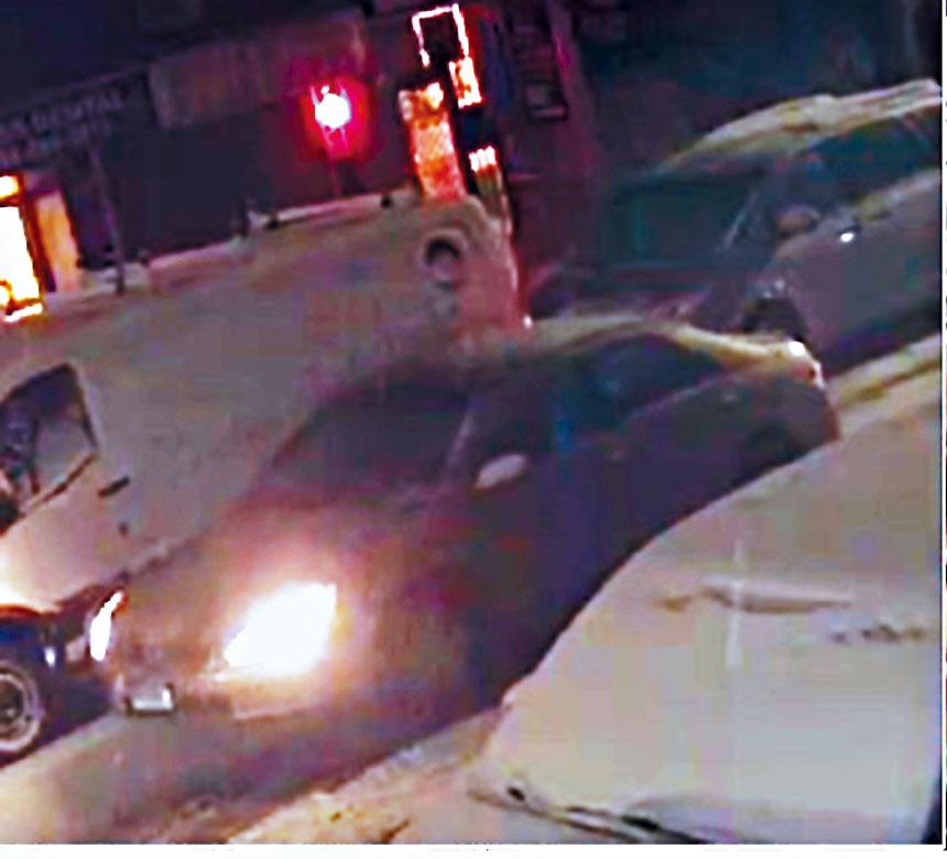 警方取得的匪車照片。