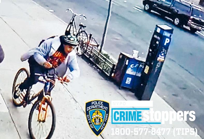 搶劫嫌疑人。警務處提供