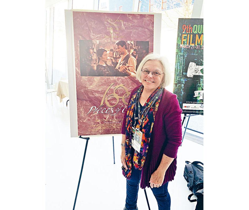 以華裔為主角的《移民足跡》導演Nancy Kelly,獲頒本年度皇后精神大獎。