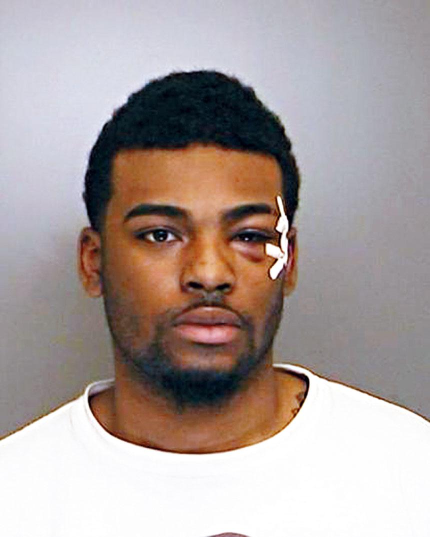 格林被控企圖謀殺和襲擊指控,面臨最高30年監禁。警方圖片