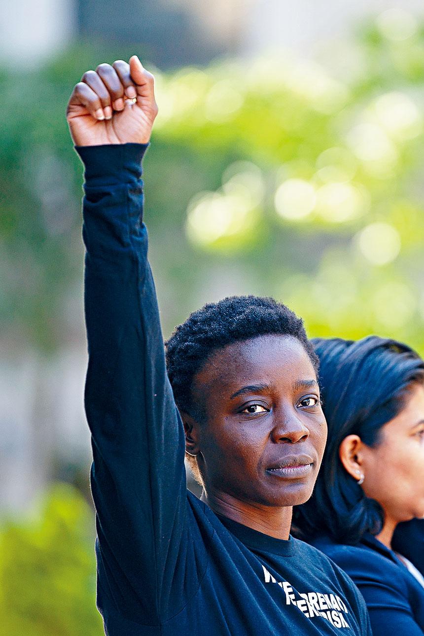 奧庫姆獲判5年緩刑及200小時社會服務令。 Emma Howells/紐約時報