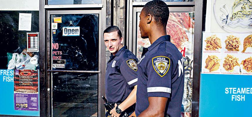 截停搜身曾是最具爭議性的警務執法工作之一,亦導致聯邦監督改革。Natalie Keyssar/紐約時報