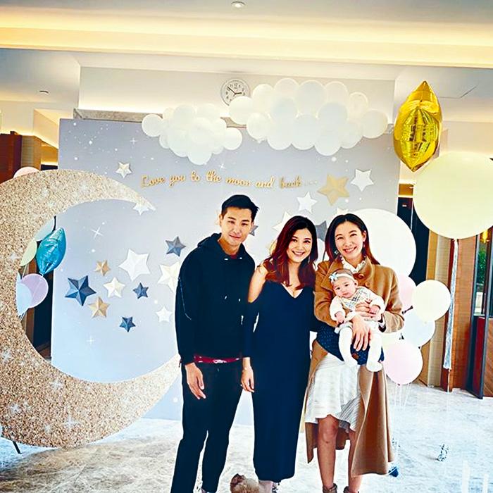 ■陳展鵬與單文柔月初舉行了Baby shower。(資料圖片)