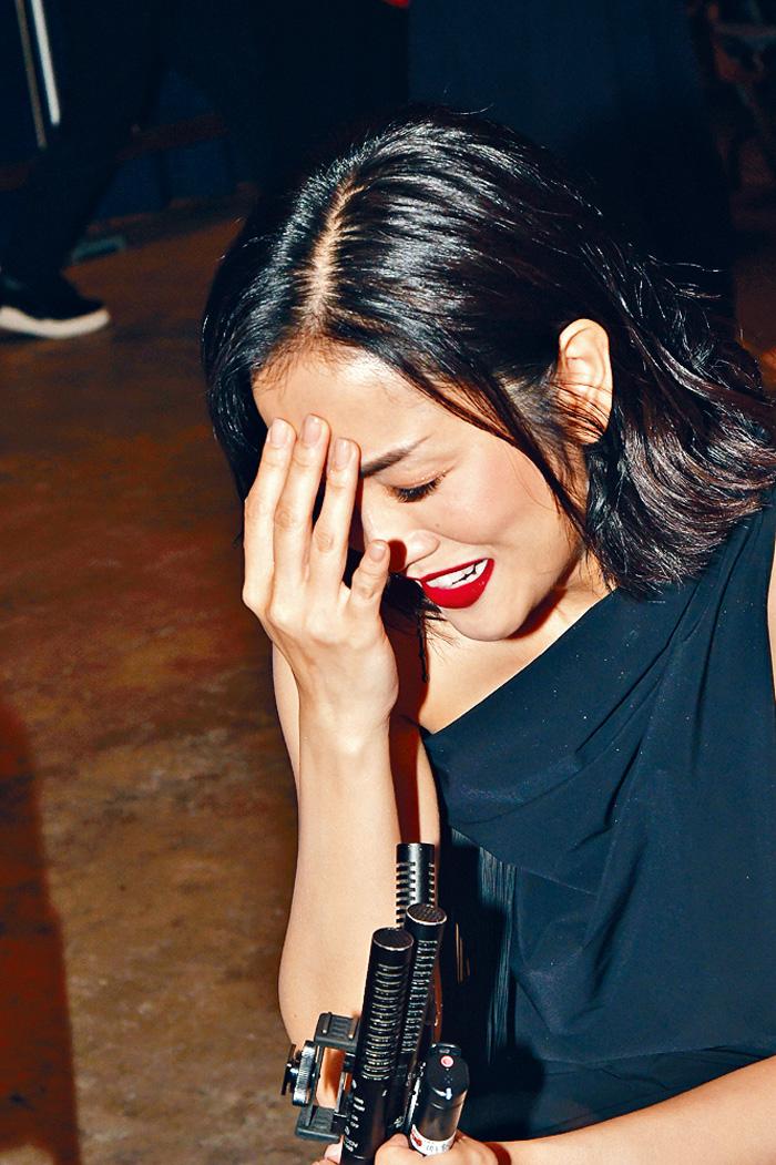 ■謝安琪對耳機失靈事件耿耿於懷。