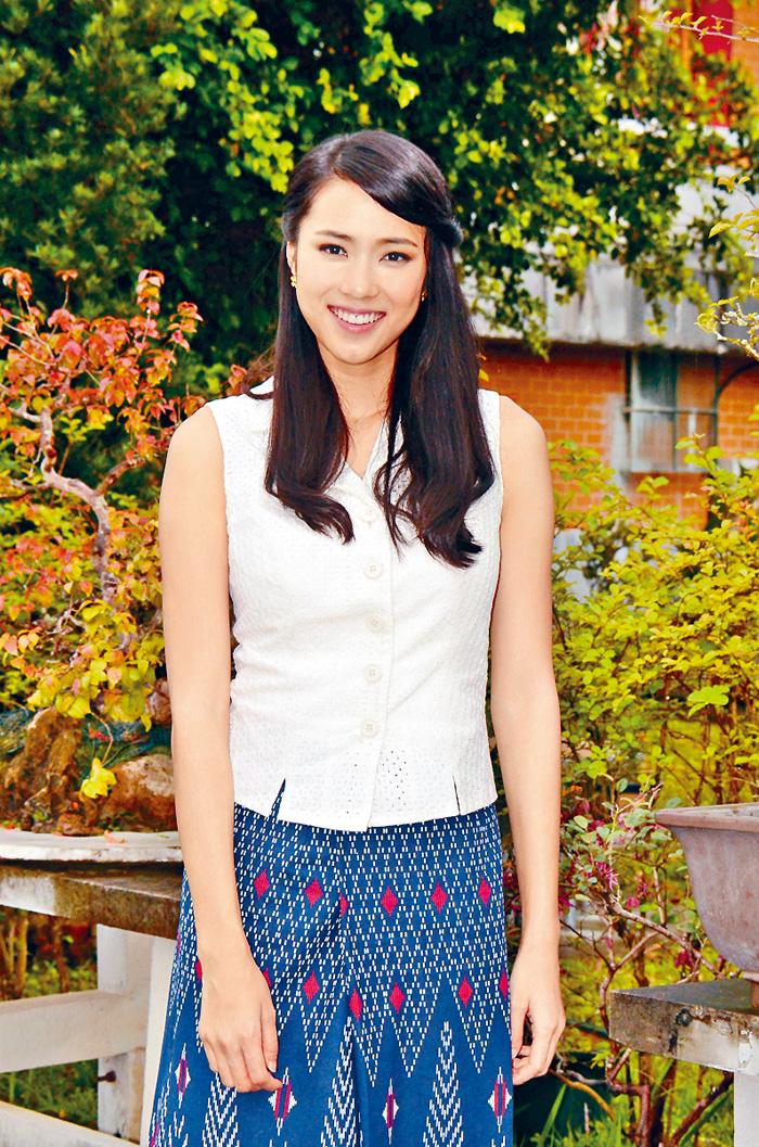 ■劉穎鏇是劇中最舒服的演員。