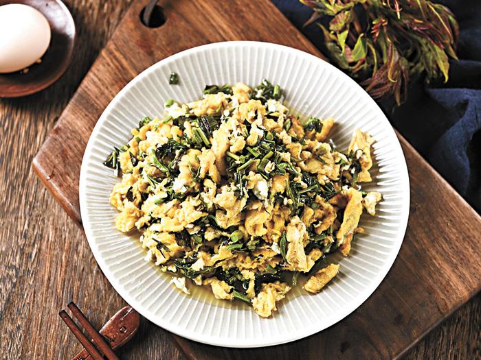 香椿炒蛋是很多人鍾愛的菜。