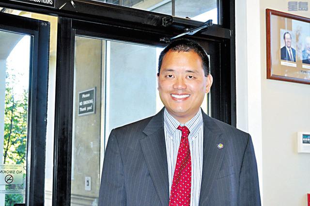 林健權辭去阿拉美達縣地檢官署檢察官之職。本報資料圖片