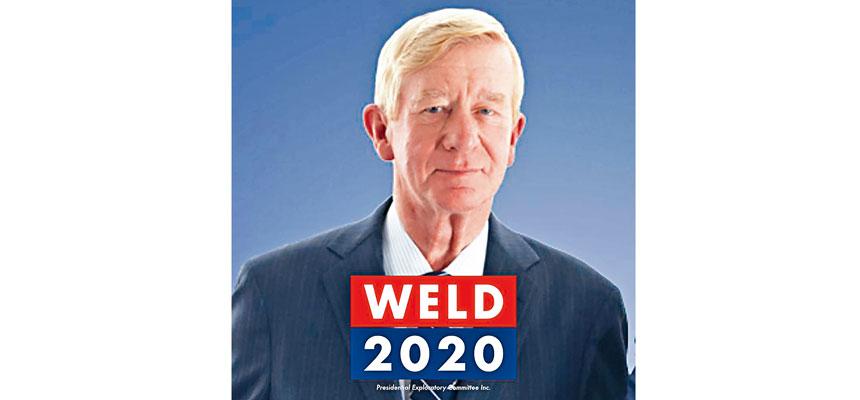 麻省前州長韋爾德正式宣布角逐2020年總統提名,成為首名公開挑戰總統特朗普的共和黨人。臉書圖片