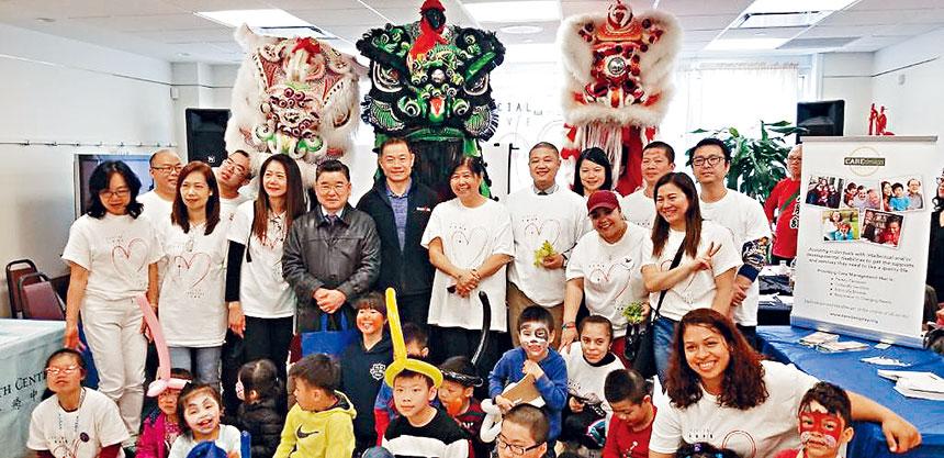 華策會皇后區社區中心攜手多個社區團體舉辦「法拉盛家庭日」。