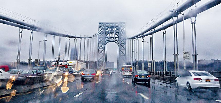 墨菲表示,將竭盡全力確保過喬治華盛頓大橋的駕駛者不會被雙重徵費。 Michael Kirby Smith/紐約時報