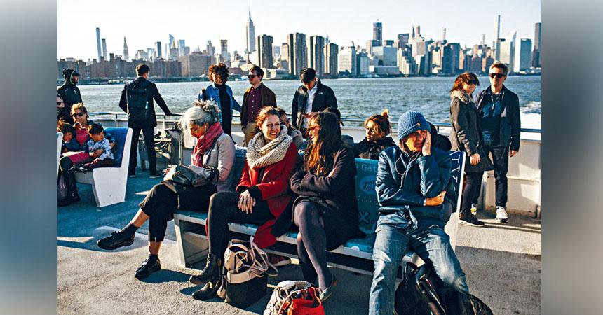 紐約市渡輪服務將於2023年全面營運,預計每年客量達1100萬人。Gabriela Bhaskar/紐約時報