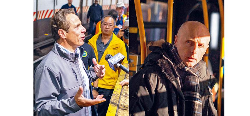 拜德福(右圖)被指與柯謨(左圖)經常在管理問題上意見相左。Joshua Bright、Stephen Speranza/紐約時報