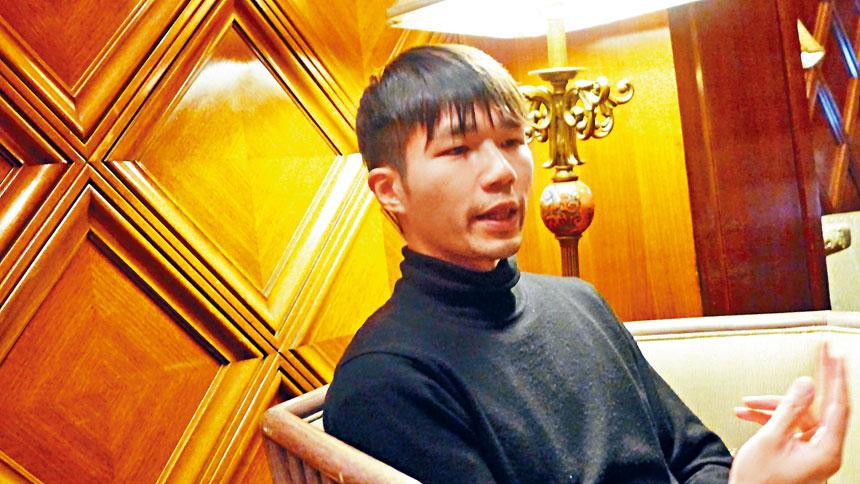 香港影片《翠絲》導演李駿碩抵達芝加哥,他將出席4月24日晚亞洲躍動電影展的閉幕儀式,同時與觀眾們進行交流會談。梁敏育攝