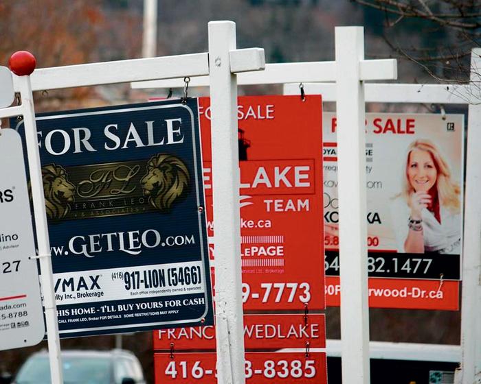 ■加拿大地產協會將公布3月份的住宅銷售情況。星報資料圖片