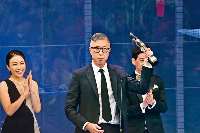 ■莊文強以《無雙》連奪導演獎及編劇獎。