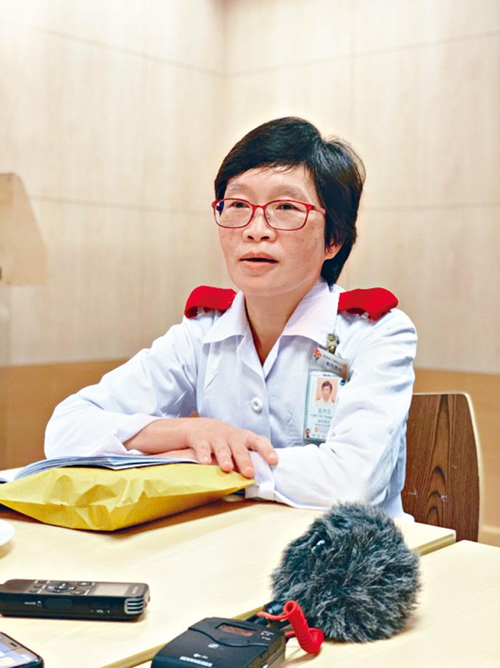 ■張香雲指,心臟科護士診所有助提升病人自我管理。