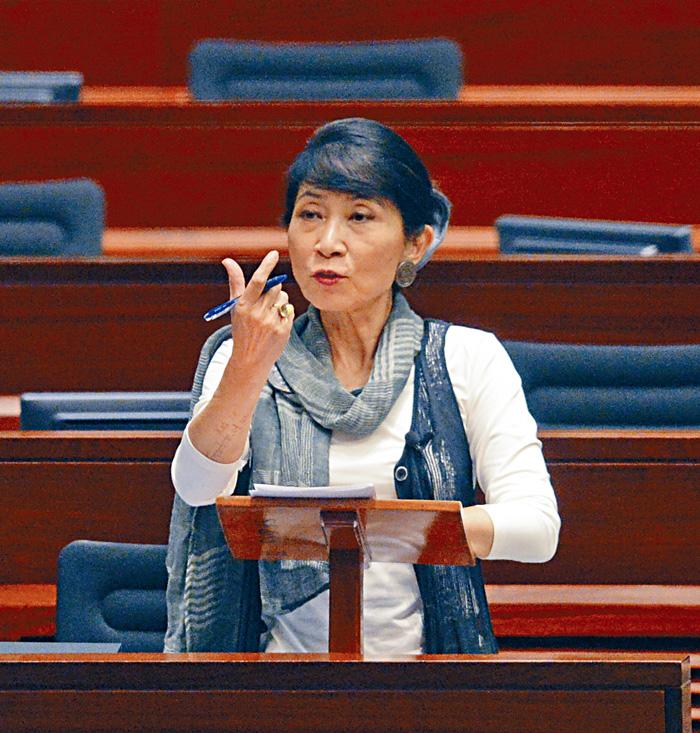 泛民會議召集人毛孟靜已向秘書處作出投訴。