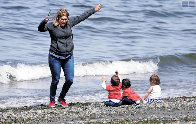 西雅圖18歲以下兒童人口數十年來首次超過10萬。美聯社資料圖片