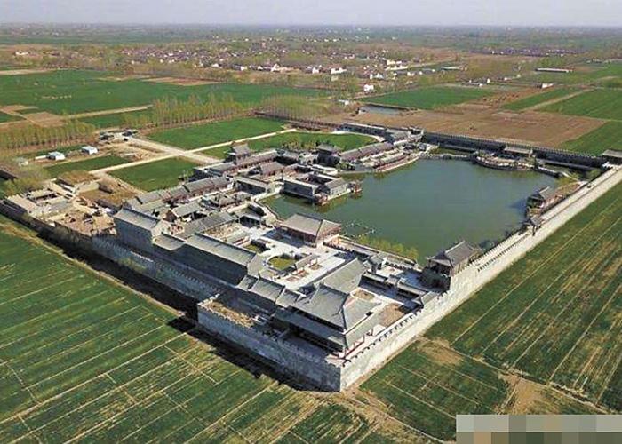 袁府被稱為「建在農田上的宮殿」。網上圖片