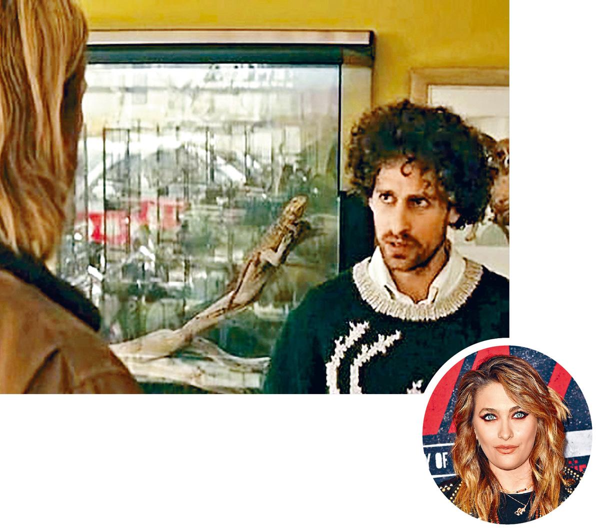 ■曾演出《雷神》的Isaac去年曾襲擊Paris(圓圖)而被警方調查。(網上圖片)