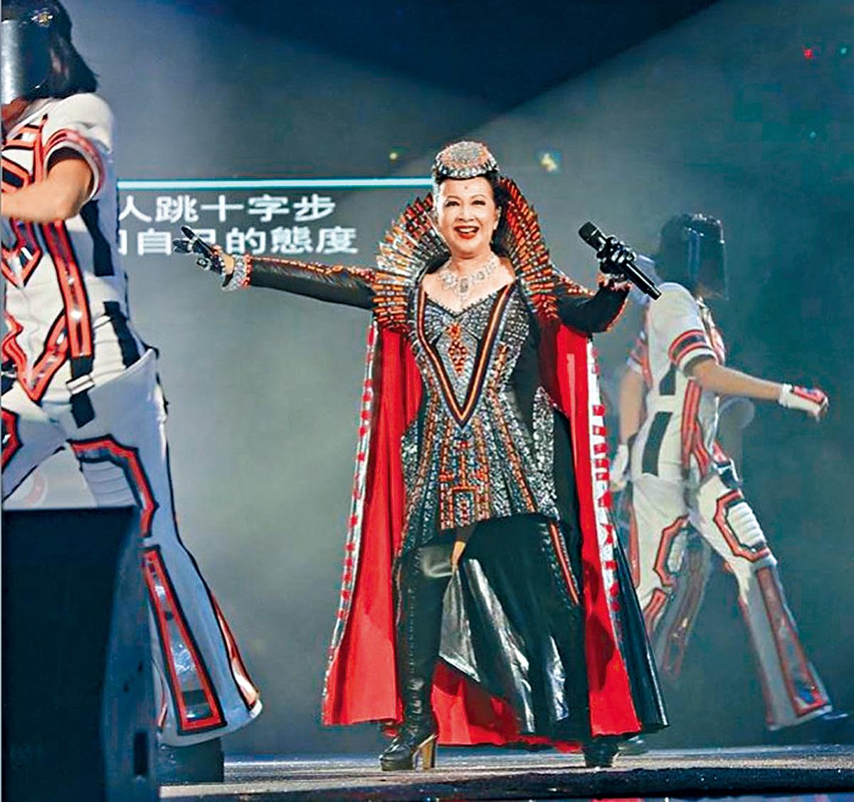 ■在演唱會澳門站中,家燕姐會再度化身為Captain Nancy。